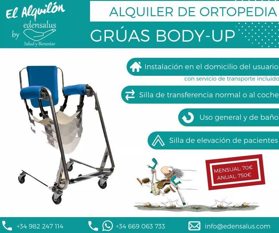 Alquiler Grúa Body Up: Catálogo de Edensalus