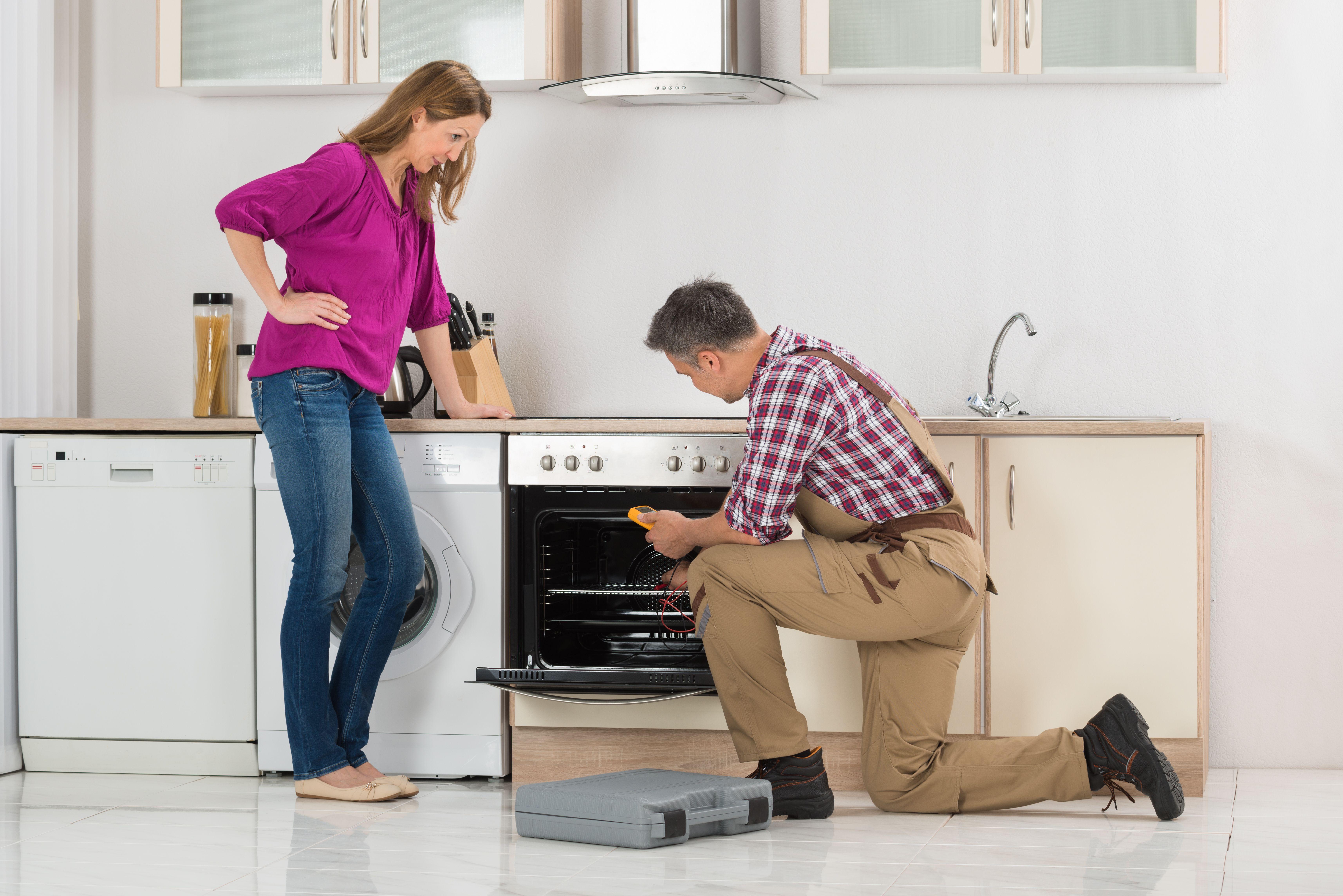 Reparación de hornos: Servicios de Servicio Oficial AEG, Electrolux, Zanussi --963 500 221--