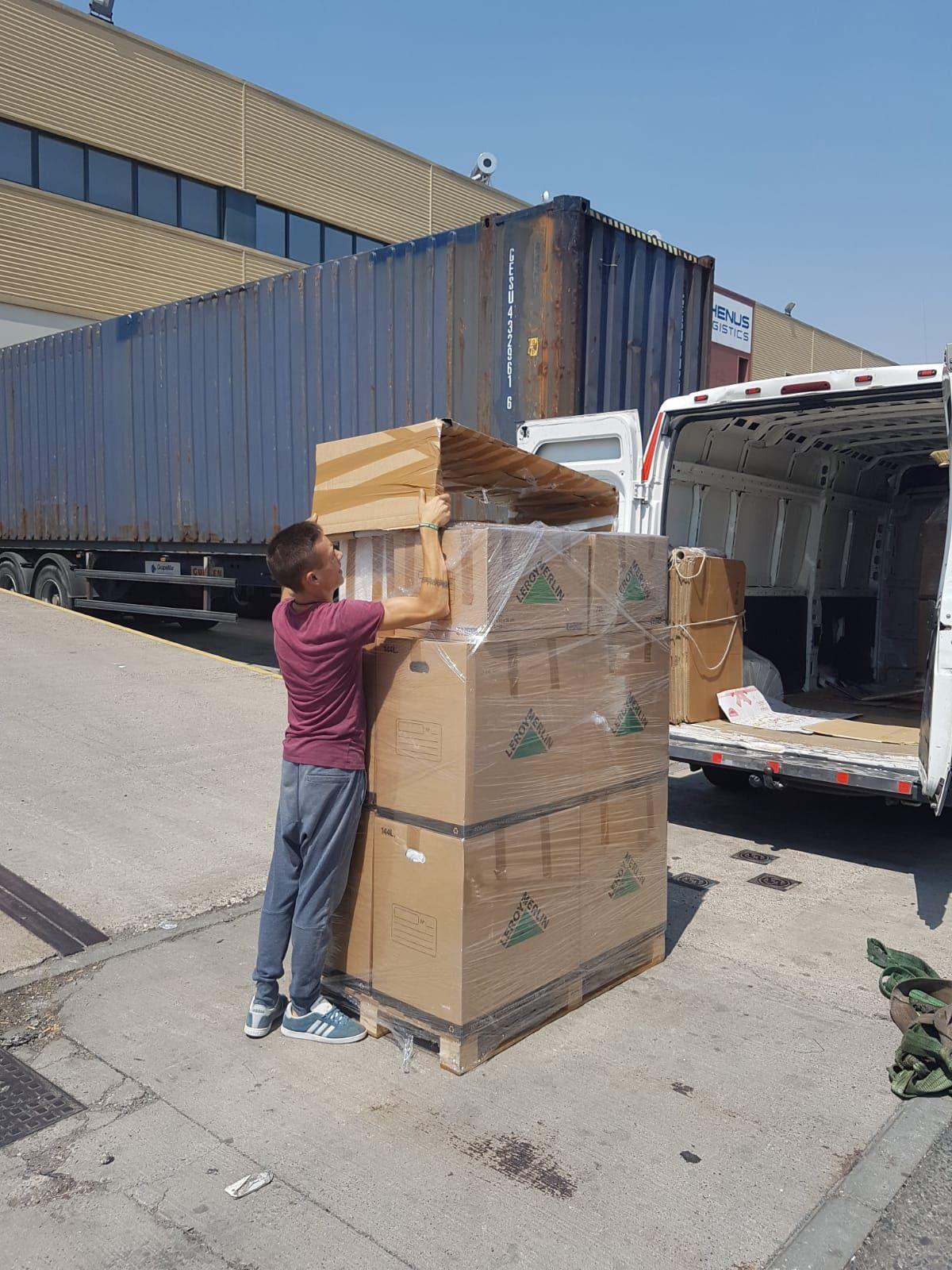 Transporte de mercancías nacionales