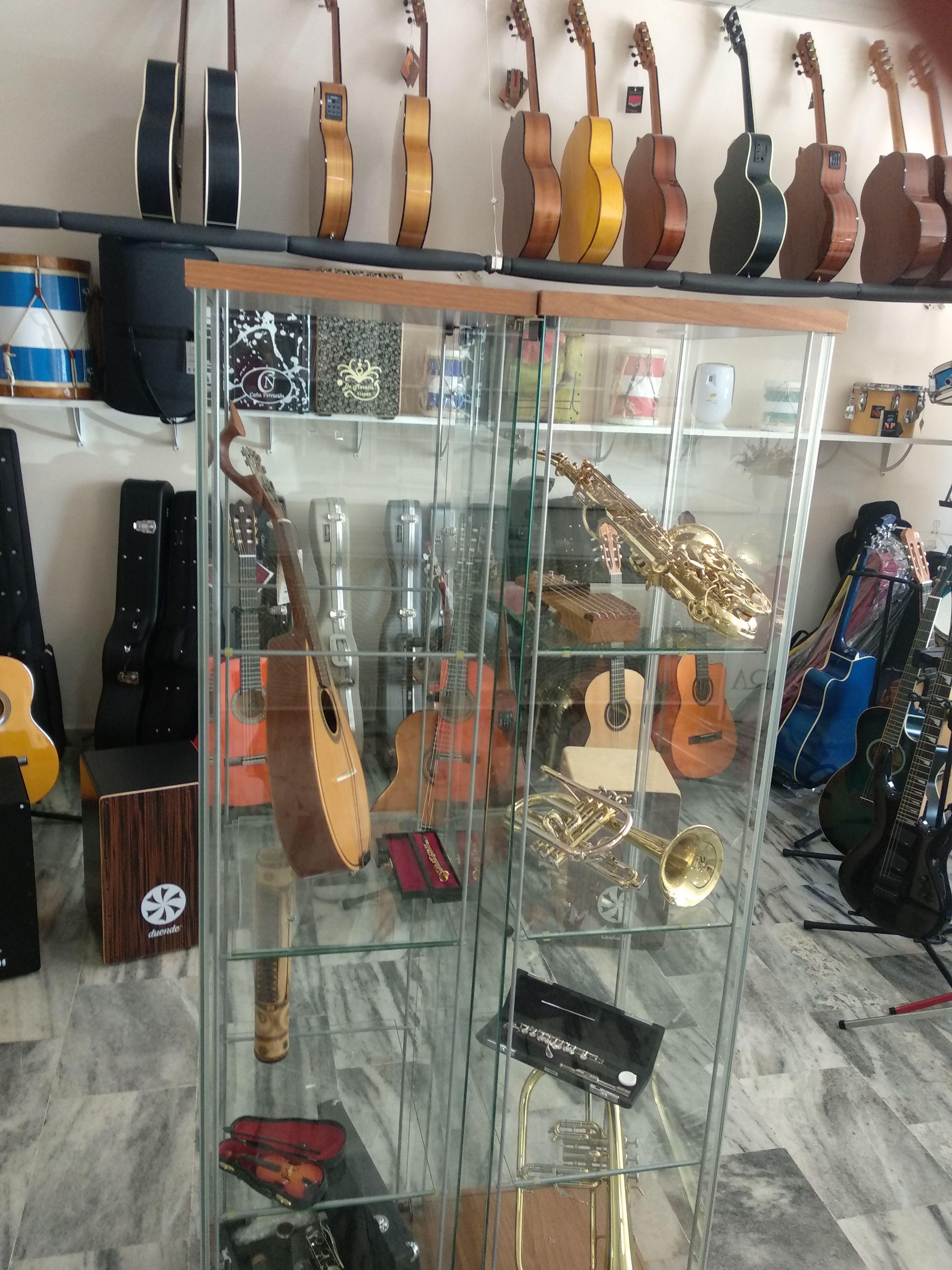 Instrumentos musicales enHuelva