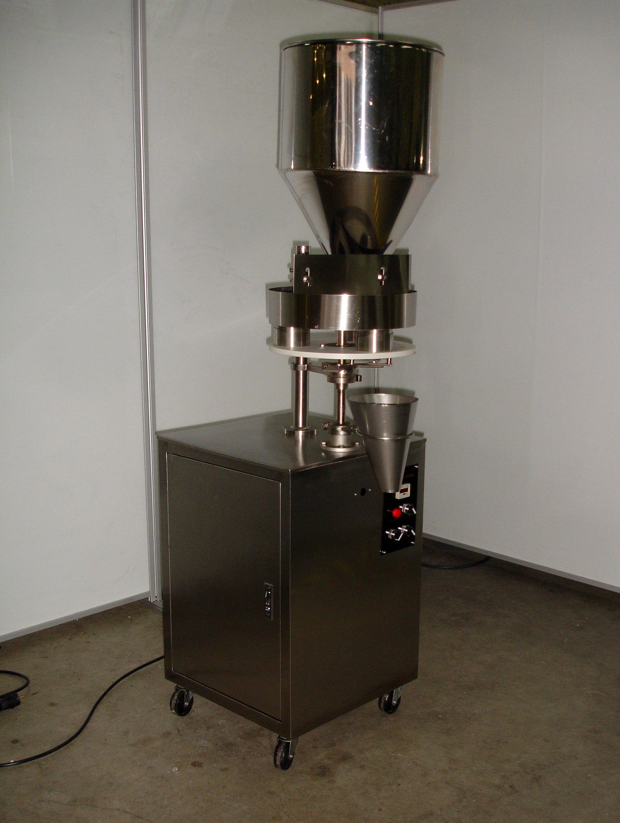 Dosificador volumétrico de productos granulados