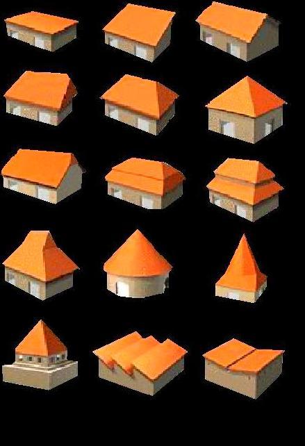 Tiposde tejados - Materiales para tejados ...