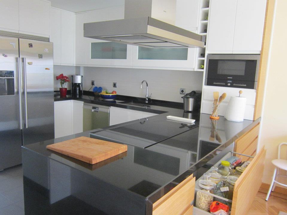 Cocina moderna barrio del pilar