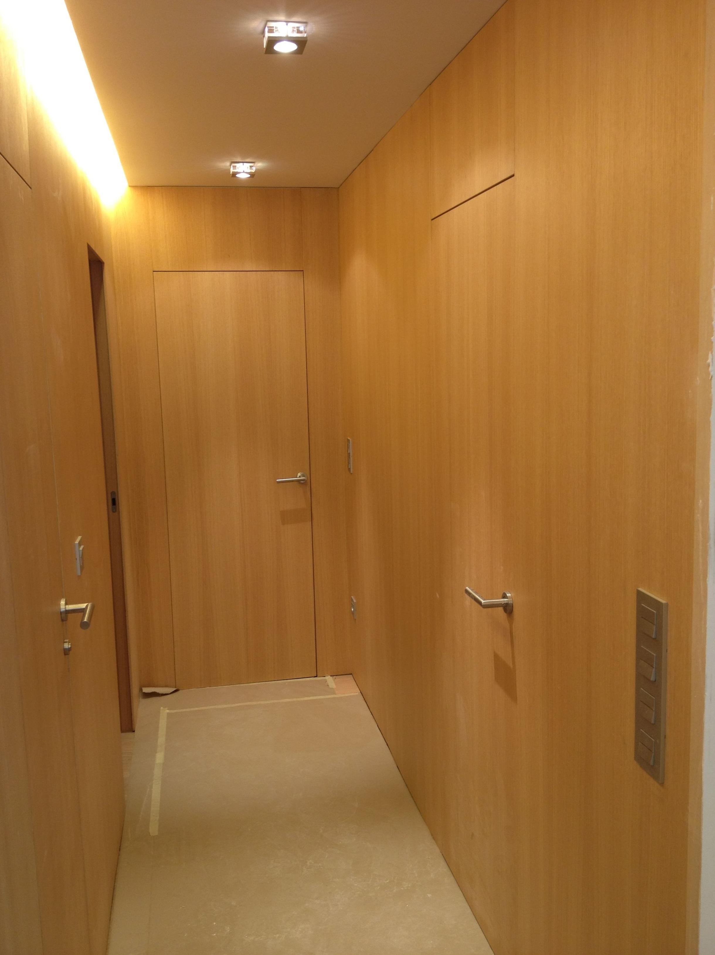 instalación de iluminación