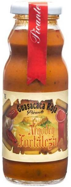 Guasacaca roja picante