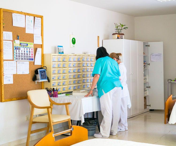 Residencia para mayores con profesionales cualificados