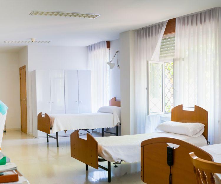 Habitaciones con instalaciones adaptadas