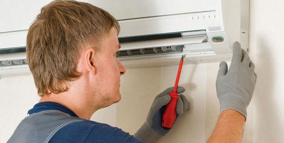 Instalación de aparatos de aire acondicionadon