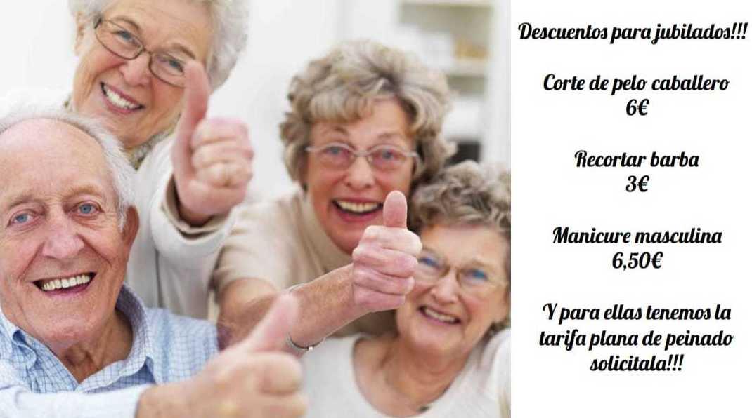 Los mejores descuentos para los jubilados!!!