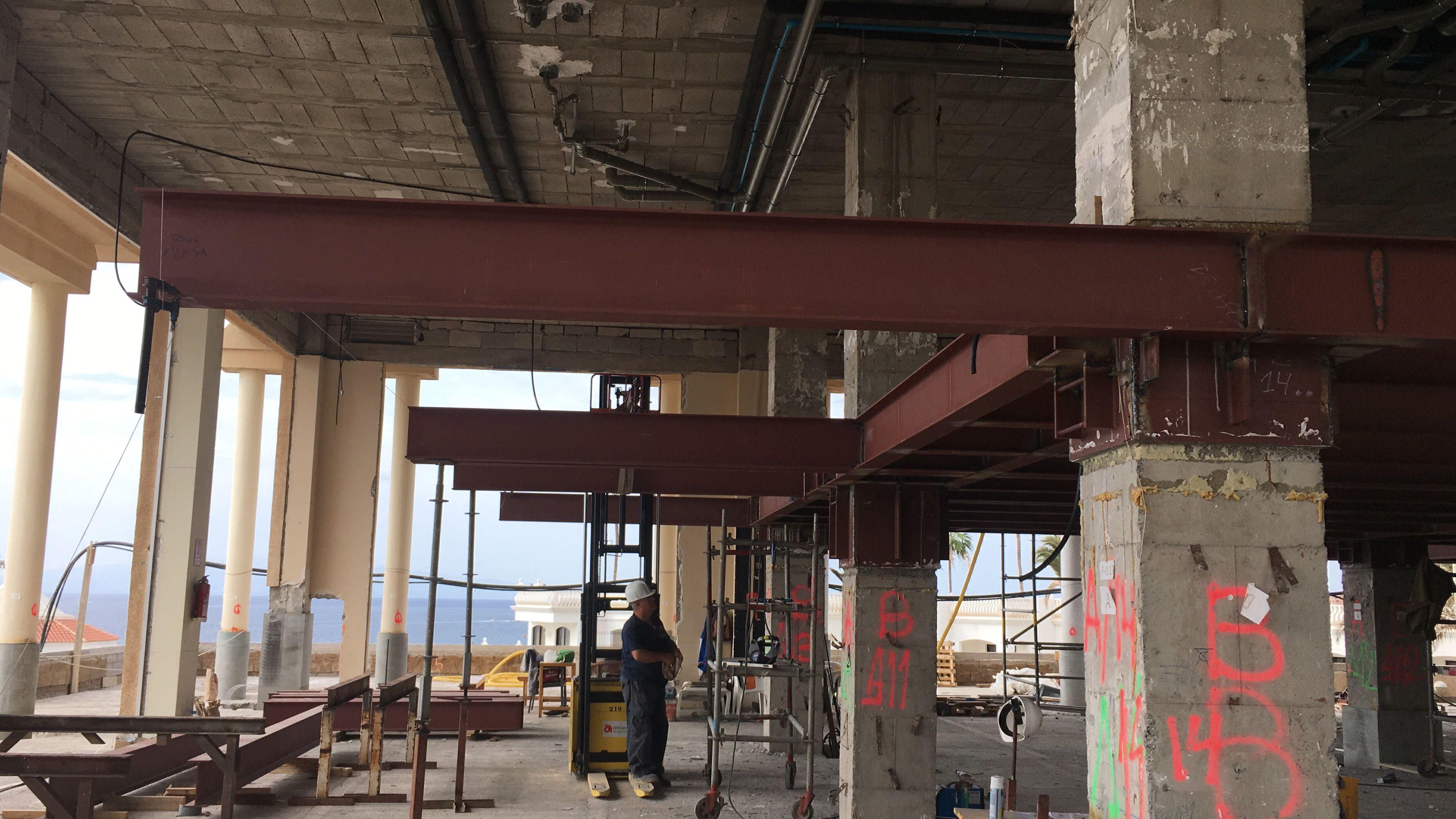 Hotel Sabila - Entreplanta estructura