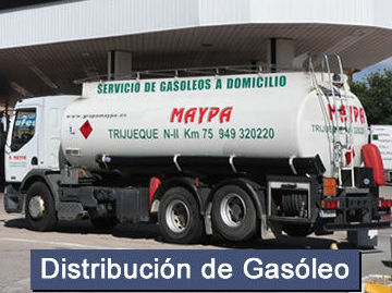 Distribución de gasóleo