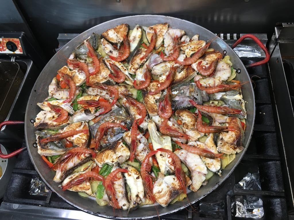 Restaurante especializado en arroces en Ibiza