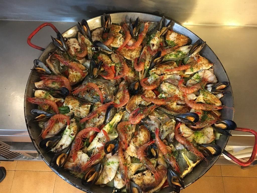 Restaurante con amplia carta de arroces en Ibiza