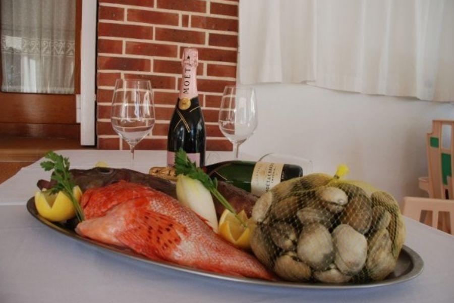 Restaurante de pescados y mariscos en Ibiza