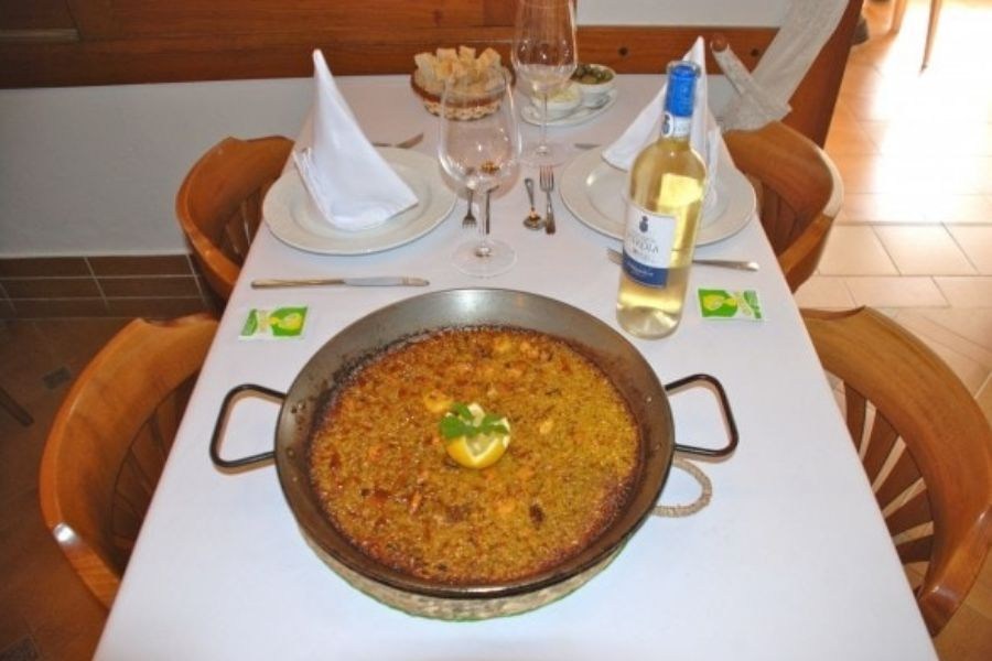 Restaurante especializado en arroces en Ibiza