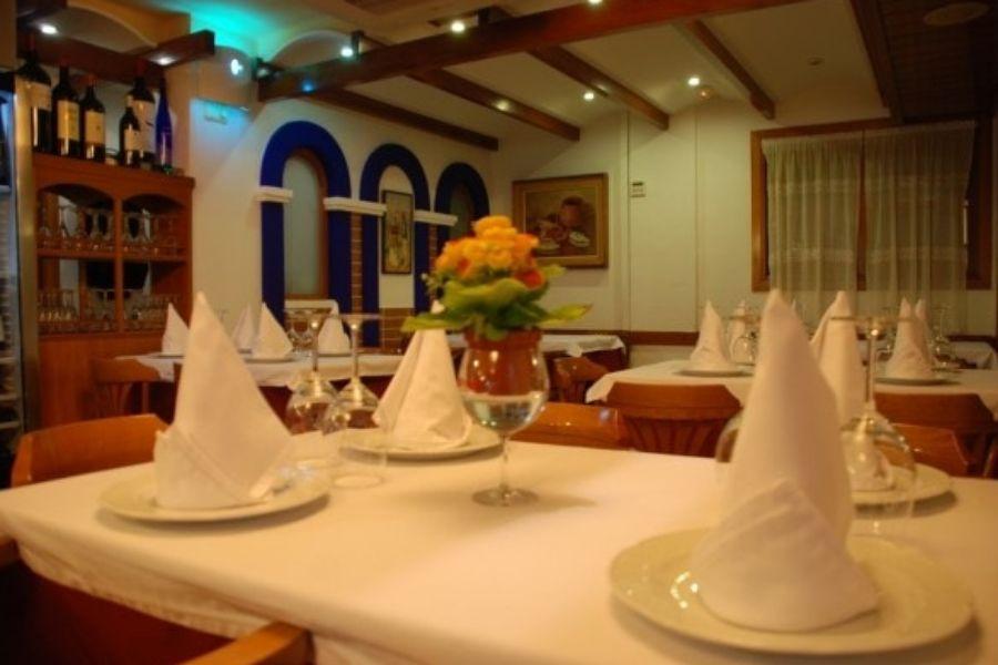 Restaurante con ambiente acogedor en Ibiza