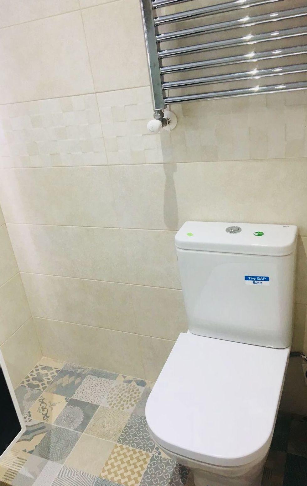 Presupuestos reforma integral de baño. Instalación de sanitarios