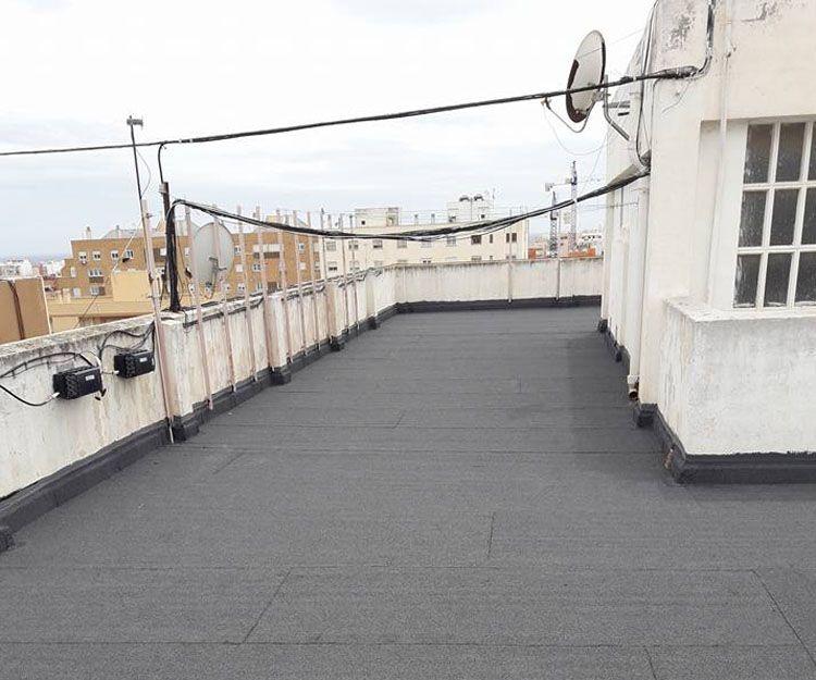 Impermeabilización de cubiertas en Almería