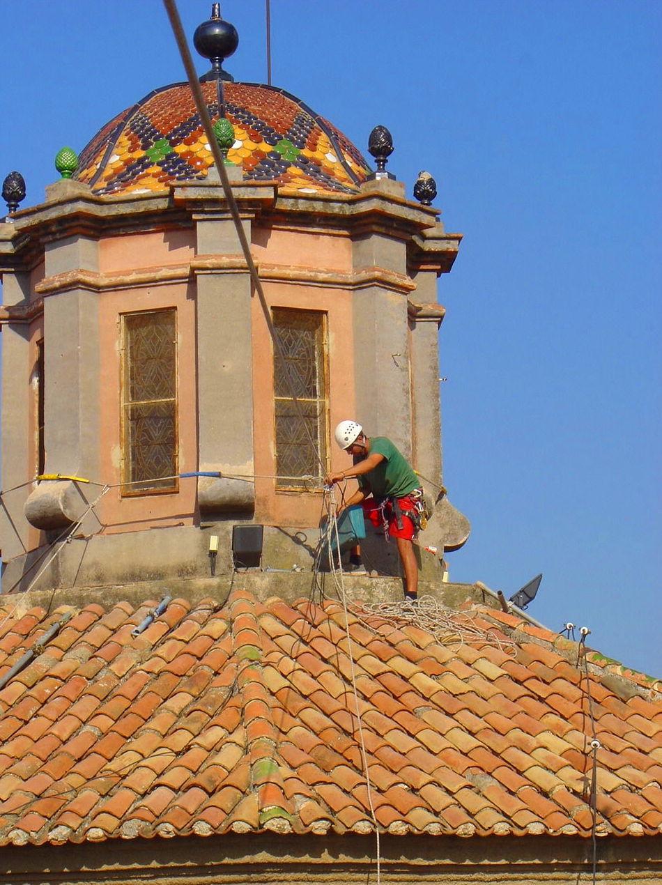 Restauració d'edificis singulars.