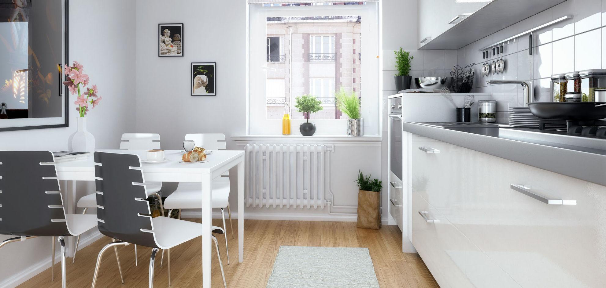 Reforma de cocina en casa unifamiliar.