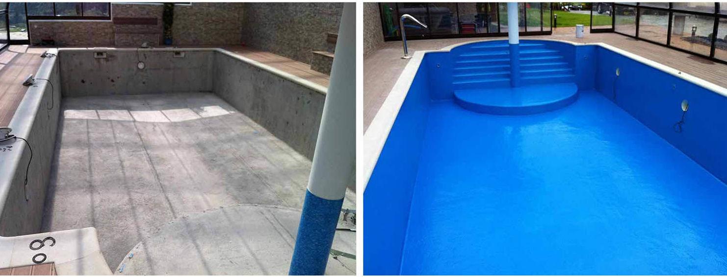 Impermabilización de piscinas y depósitos