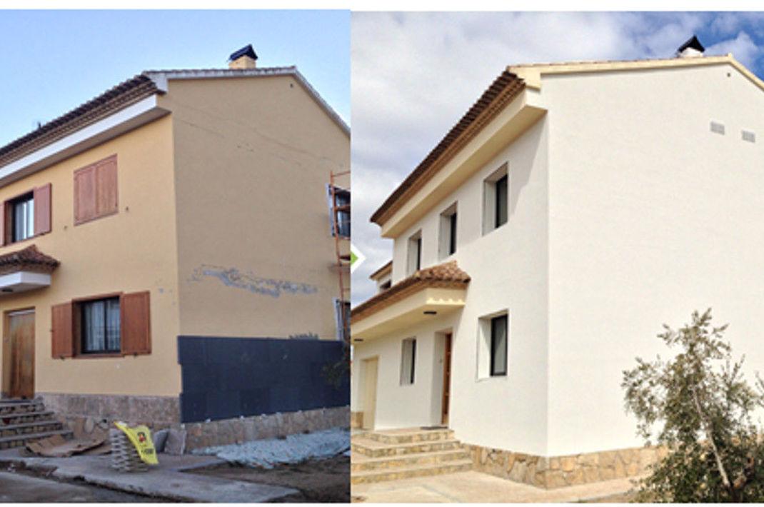 Pintura y rehabilitación de fachadas