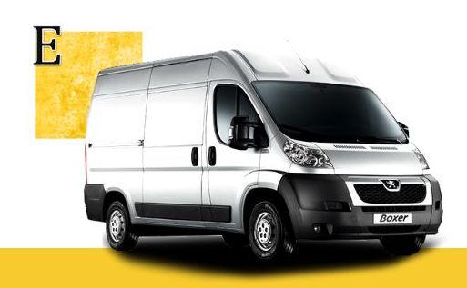 Peugeot Boxer: Servicios de Elite Van