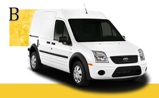 Ford Transit Connect: Servicios de Elite Van }}