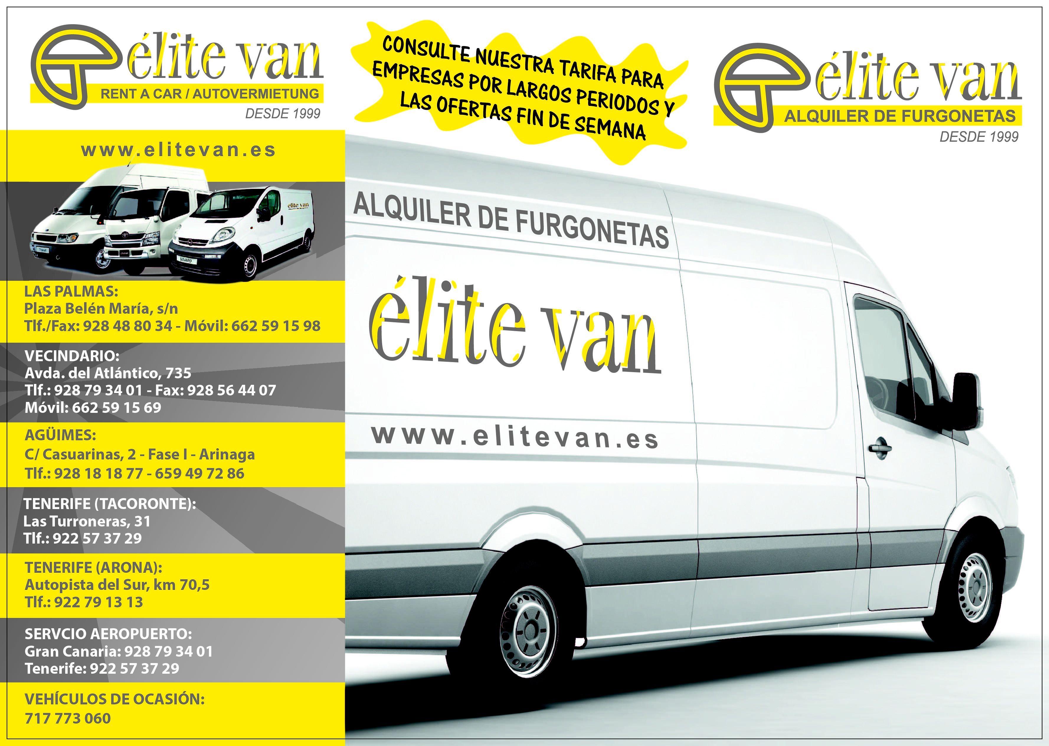 Foto 15 de Alquiler de furgonetas en  | Elite Van