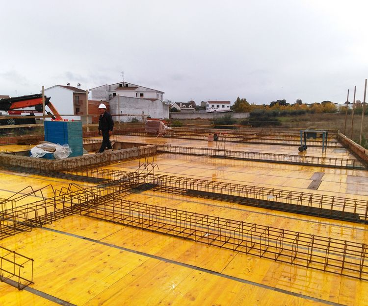 Obras públicas en Cáceres