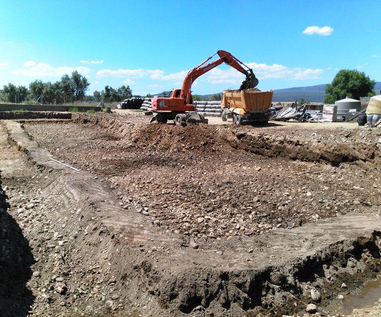 Excavaciones en Cáceres