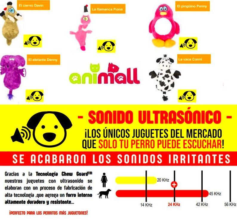 MUÑECOS PELUCHES ULTRASONIDOS
