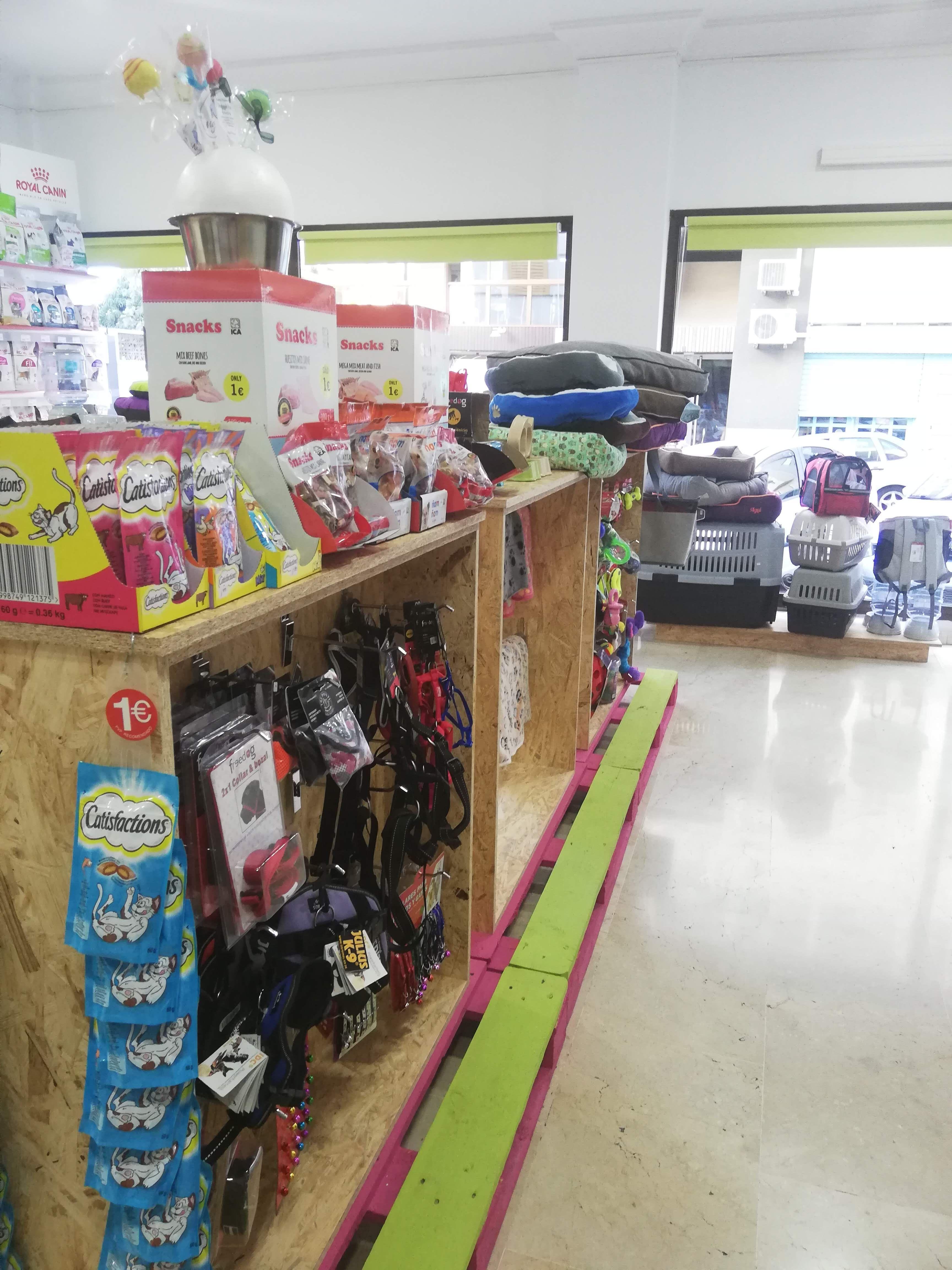 Tienda de accesorios para mascotas en Santa Cruz de Tenerife