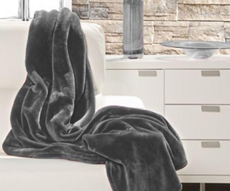 Plaid Silky gris en Leganés