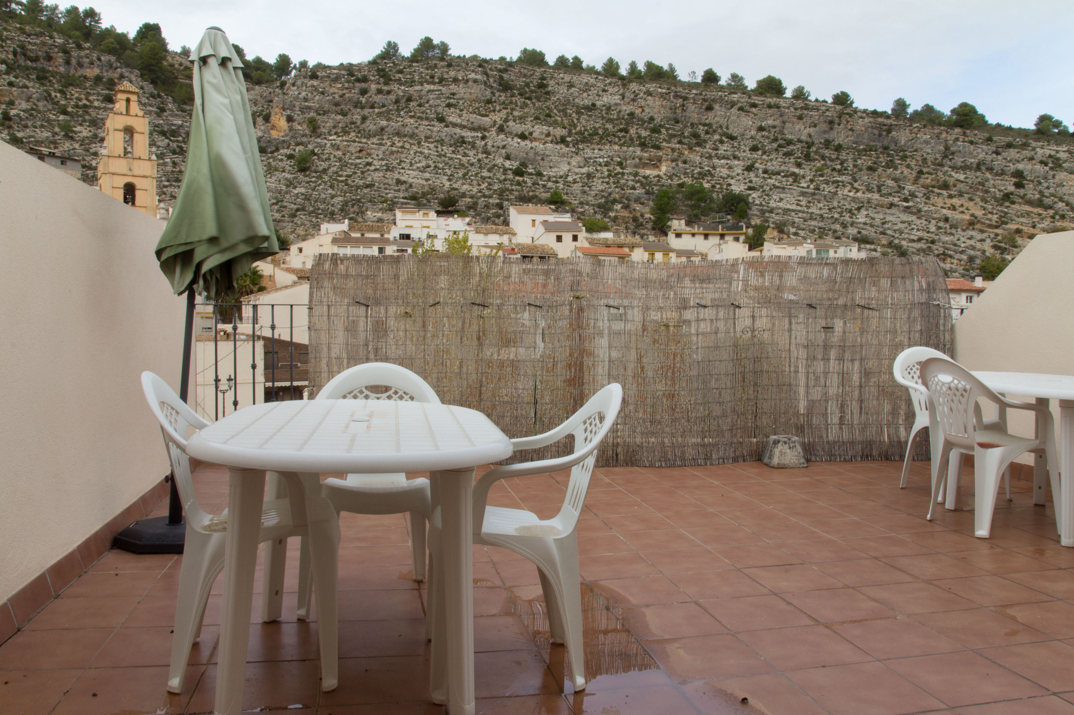 Apartamentos con terraza en Cortes de Pallás