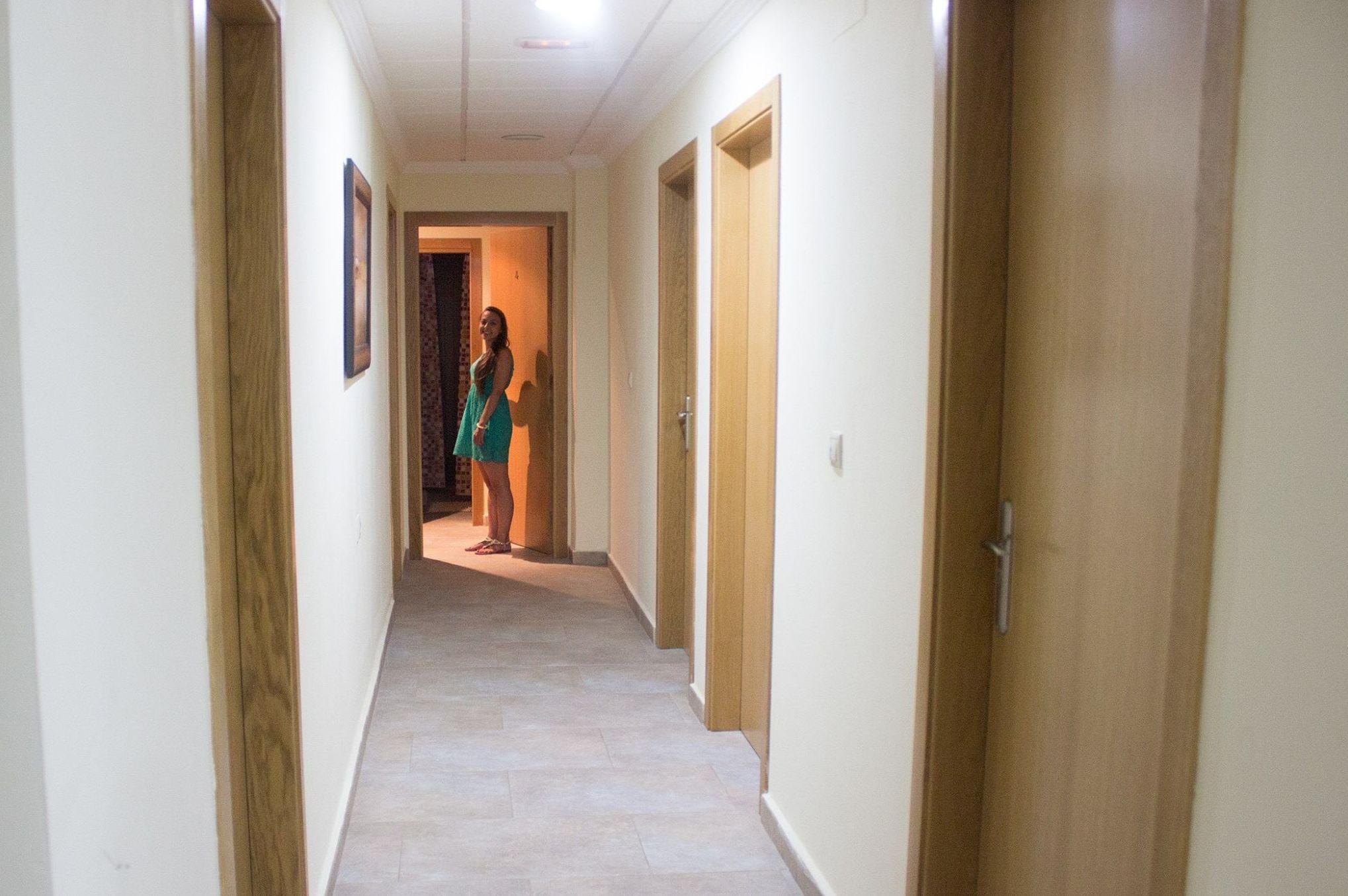Interior de nuestro hostal