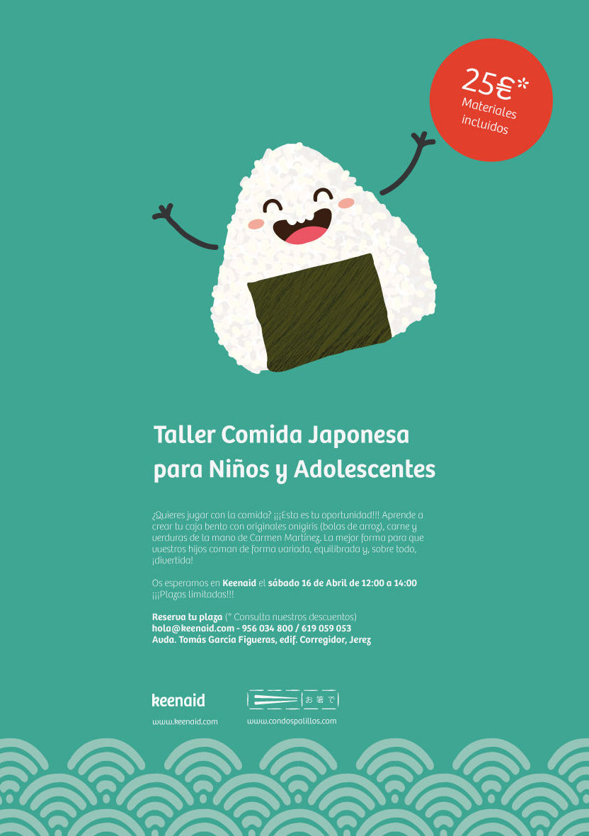 Comida japonesa para niños