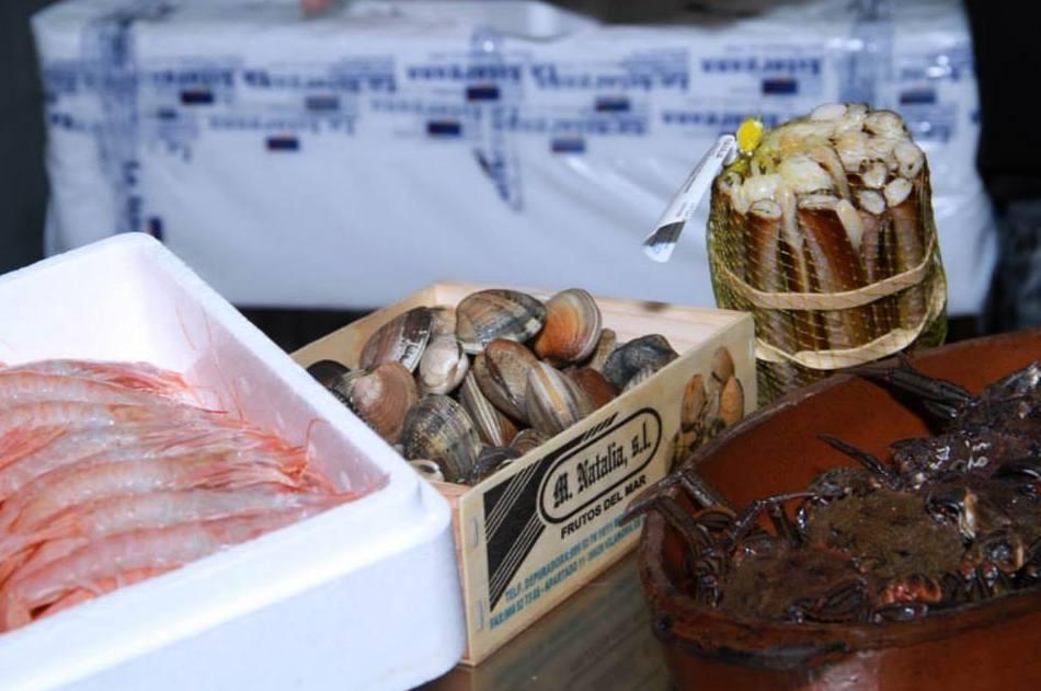 Productos del mar para nuestros platos
