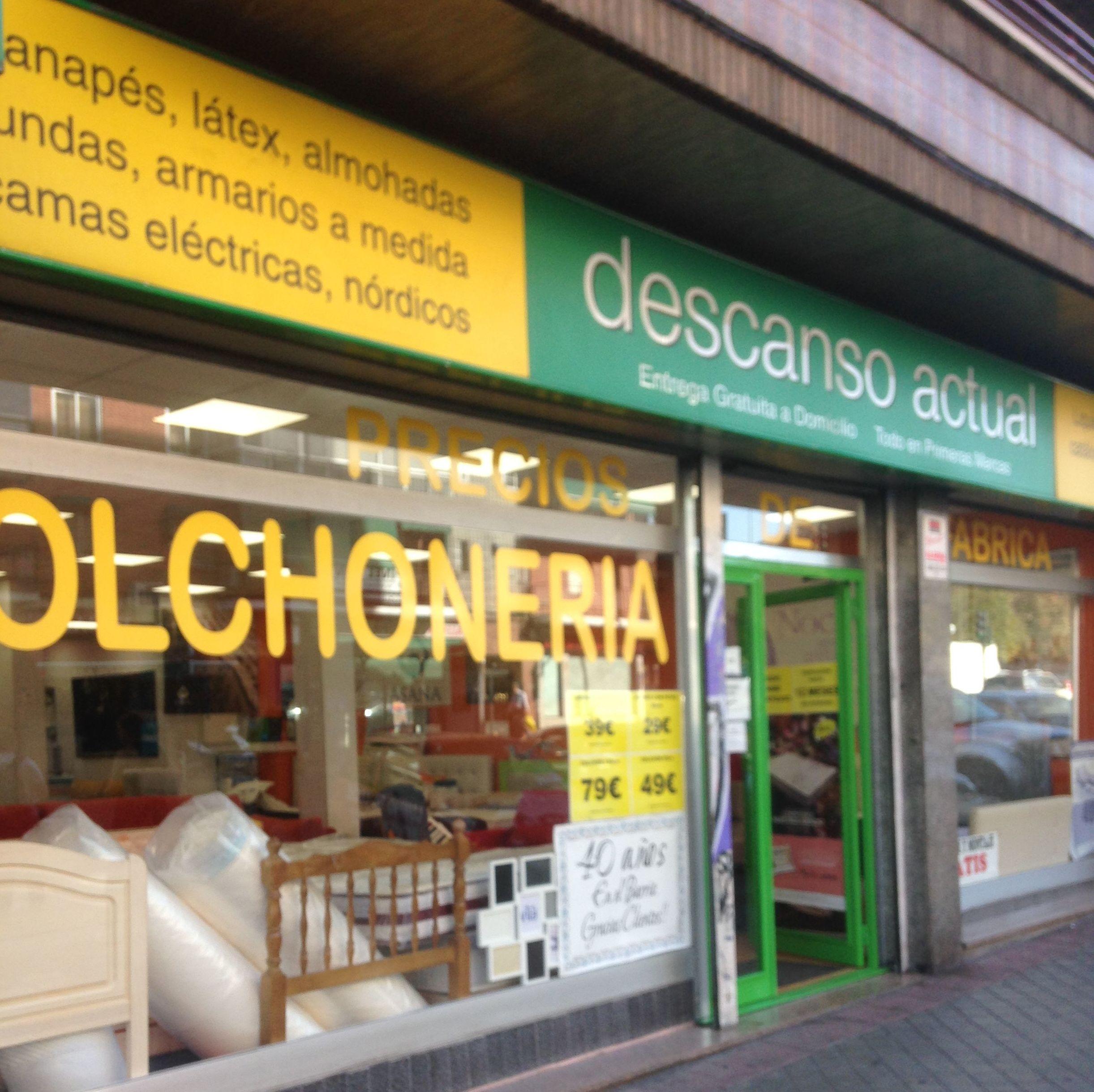 Tienda de colchones en Carabanchel