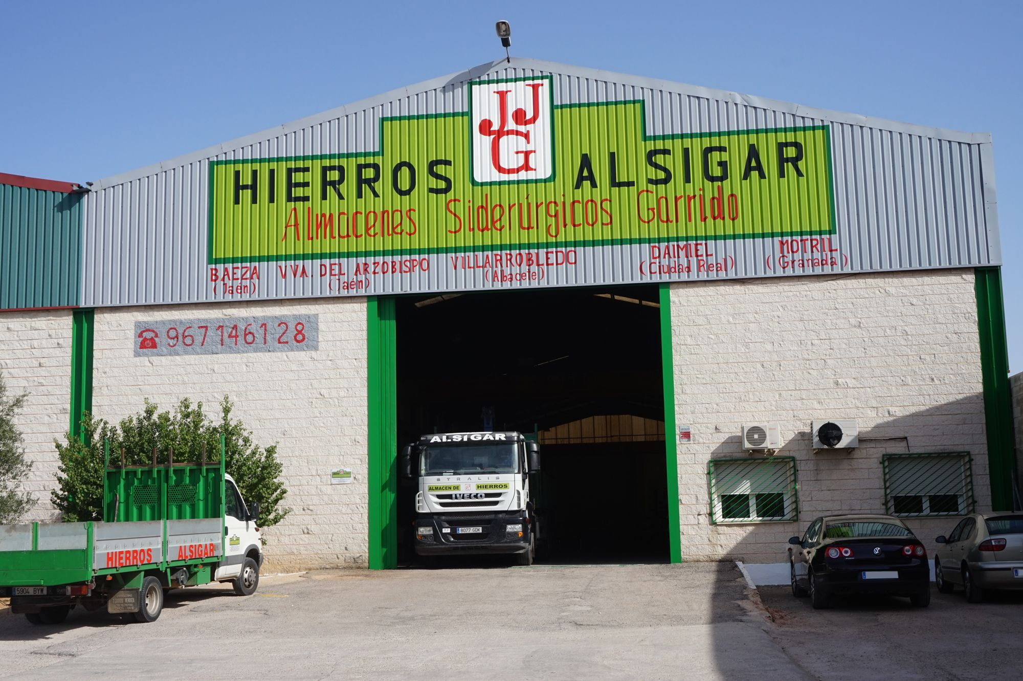 Almacén de hierros en Villarobledo, Albacete