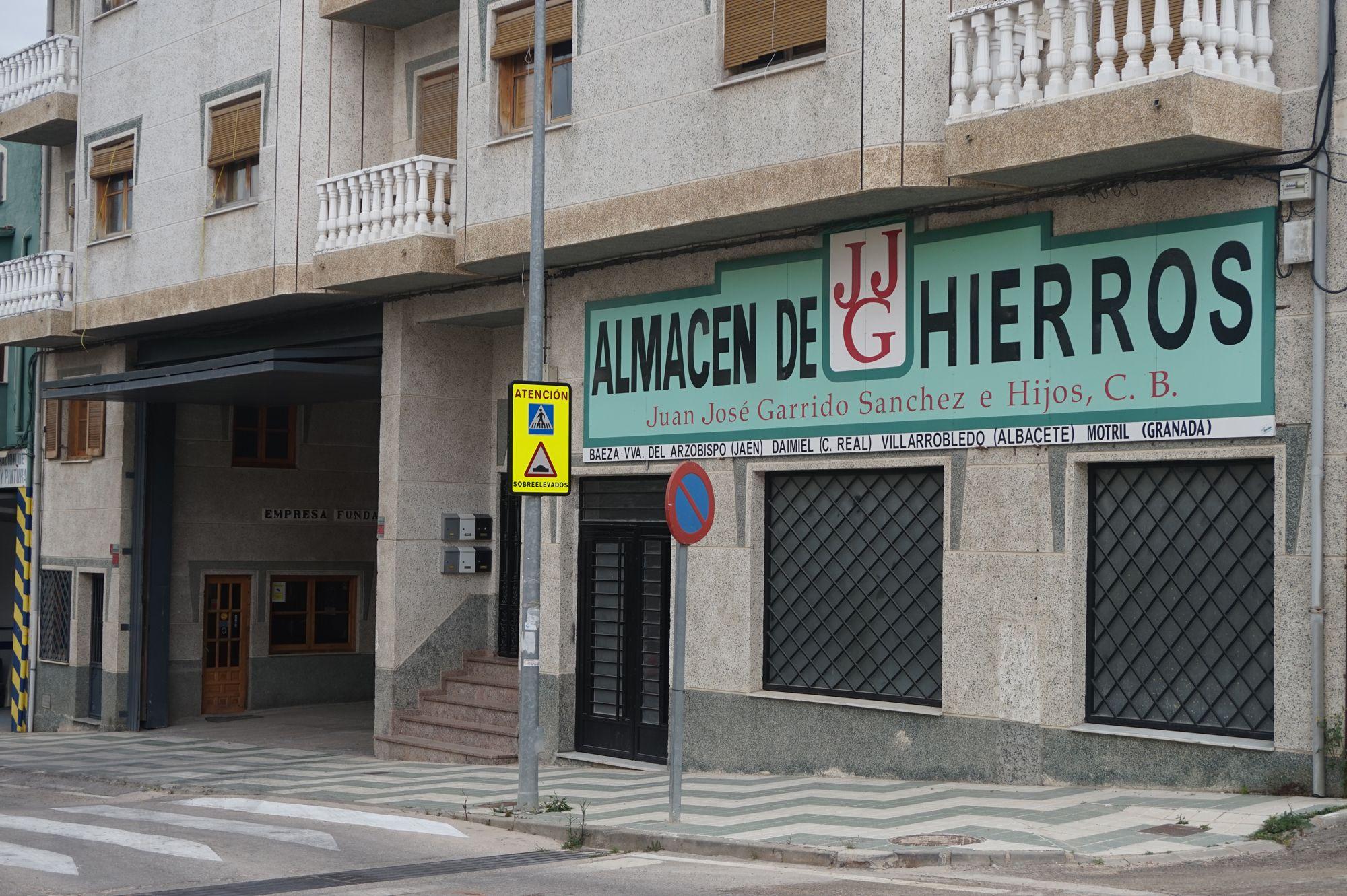Almacén de hierros en Villanueva del Arzobispo, Jaén