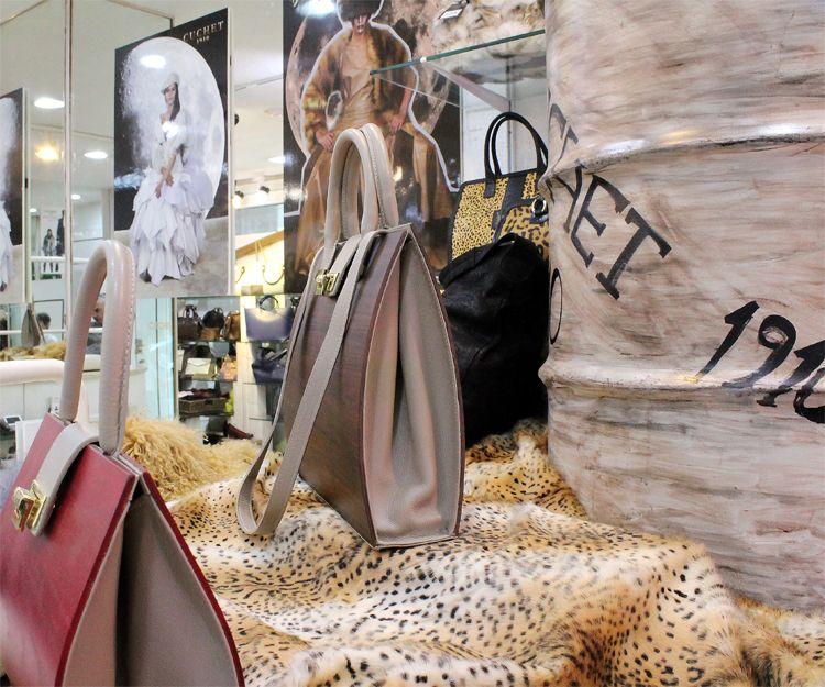 Venta de bolsos de piel en Madrid centro