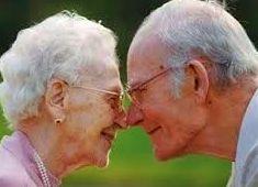 nunca es tarde para encontrar el amor.