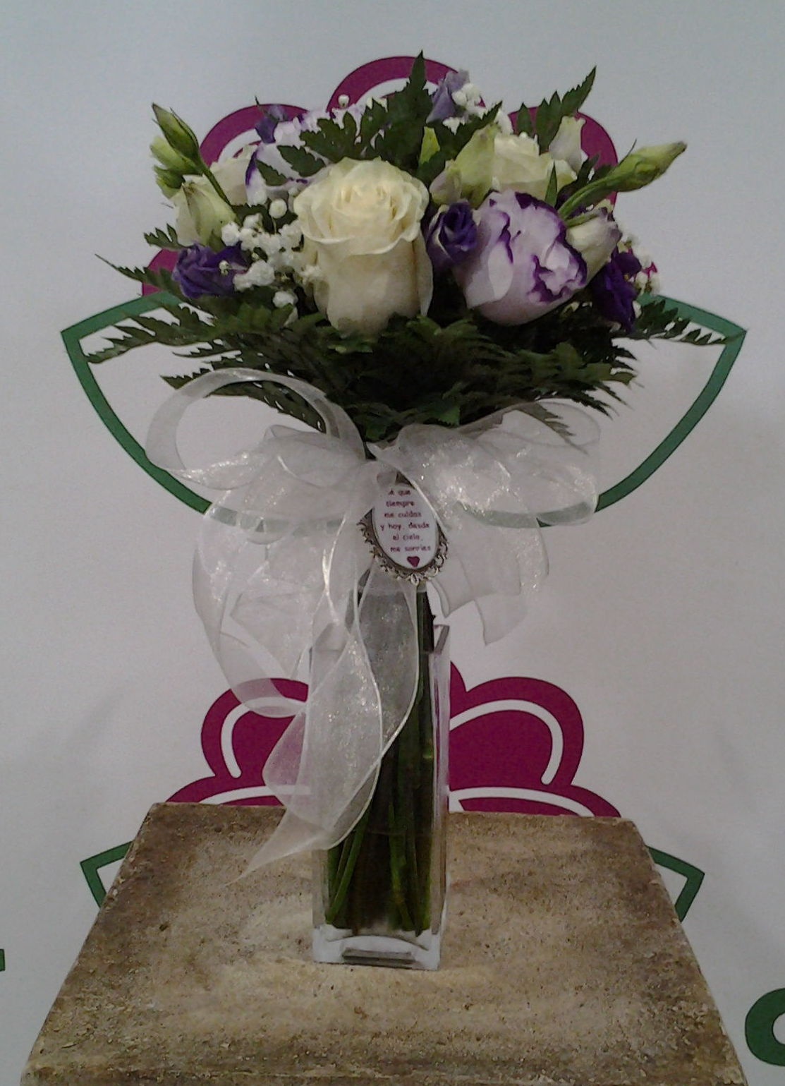 Ramo de lisianthus: Servicios de Arte Flor