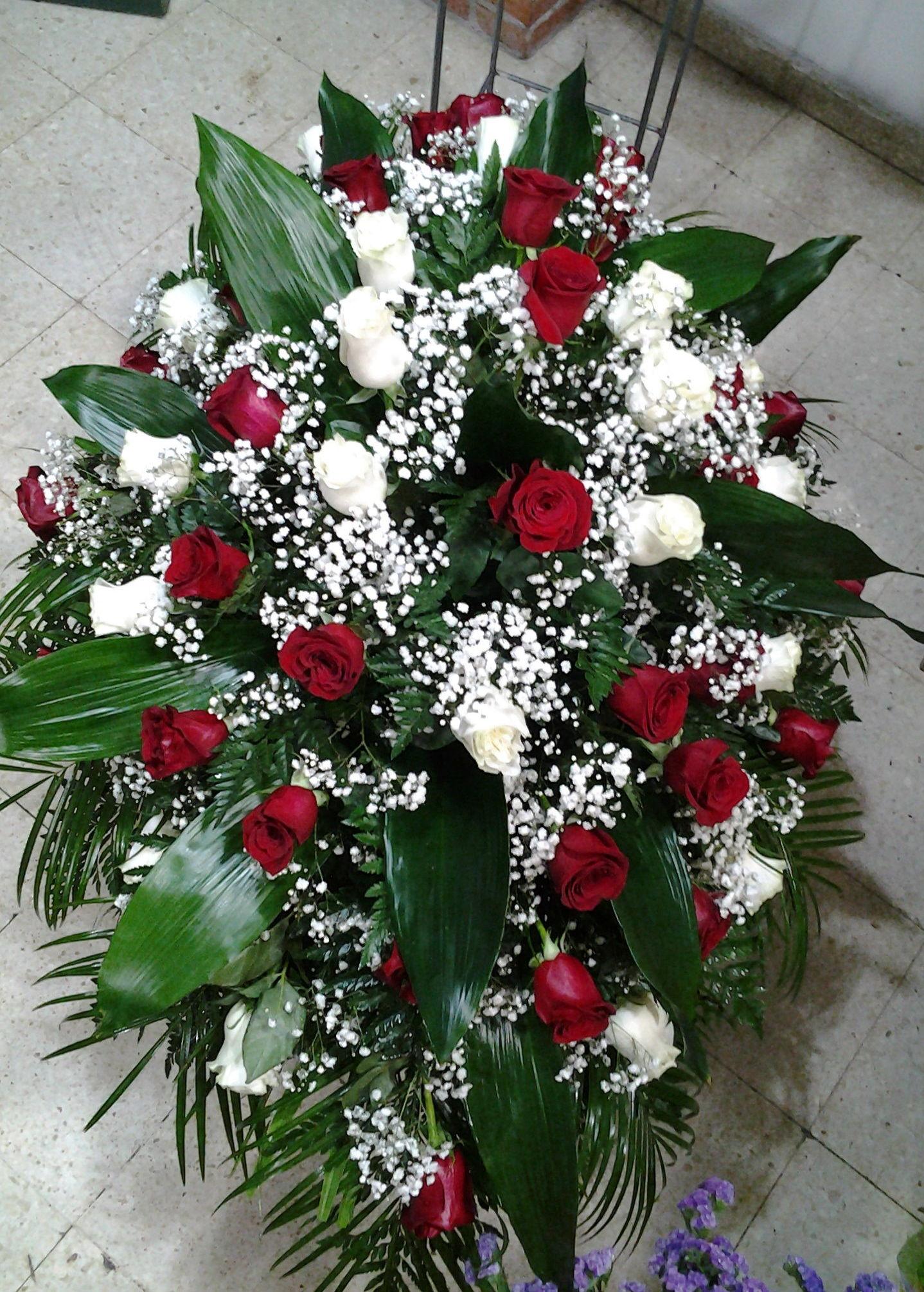 Palma de 48 rosas: Servicios de Arte Flor