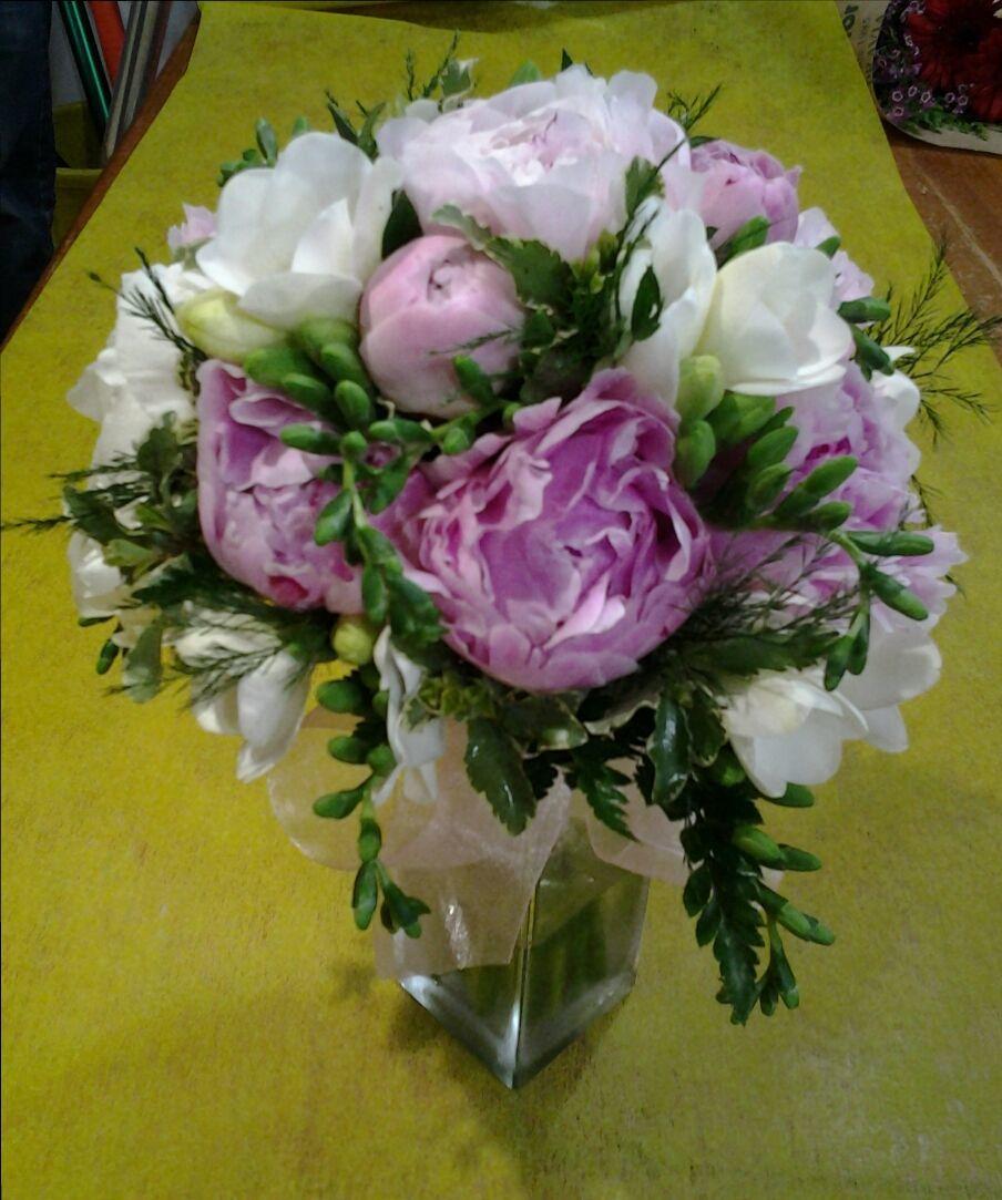Ramo de peonias: Servicios de Arte Flor