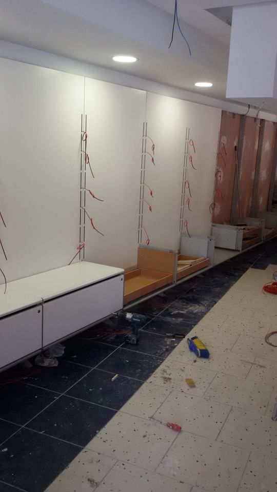 Instalación eléctrica en local comercial