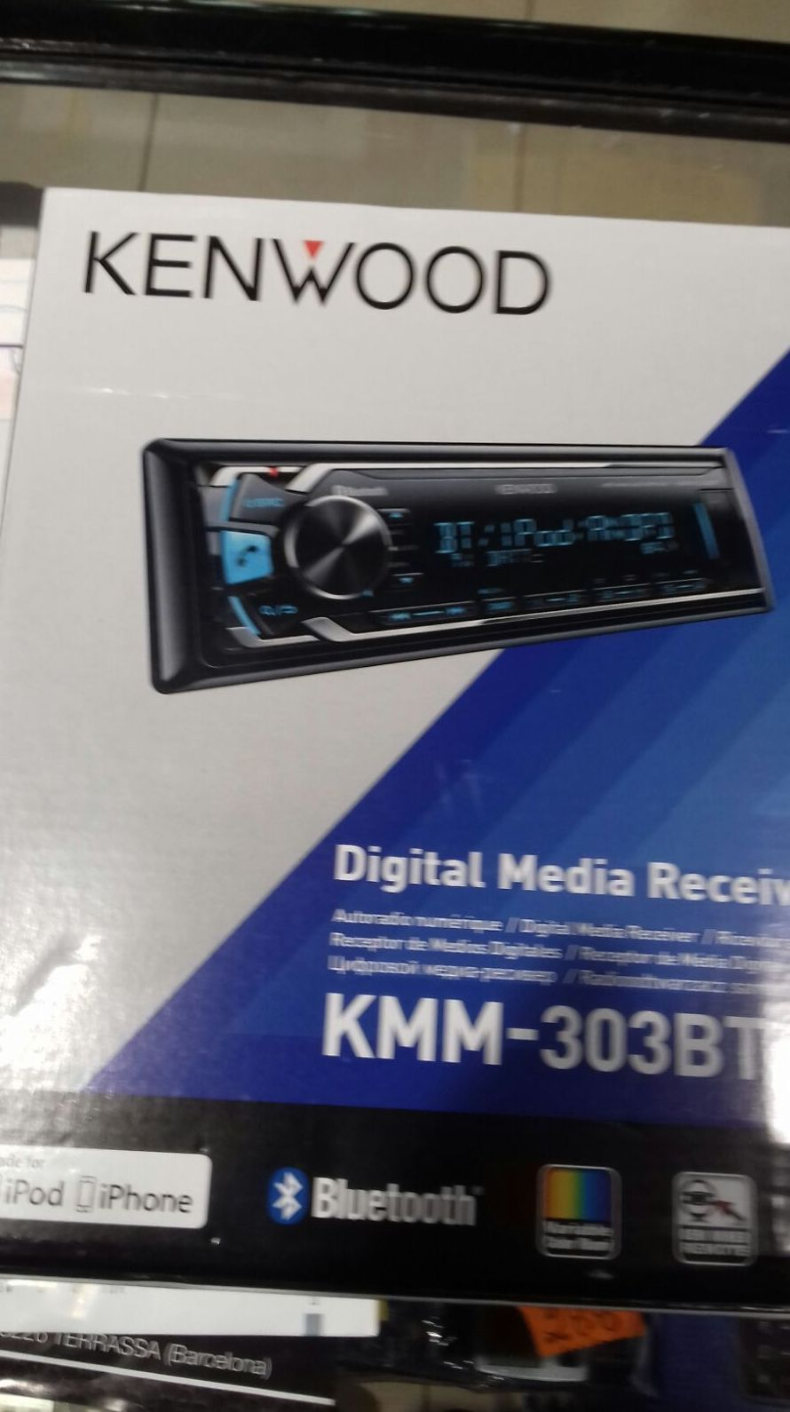 Auto radio con bluetooth usb. Imitación variable con montaje 99€
