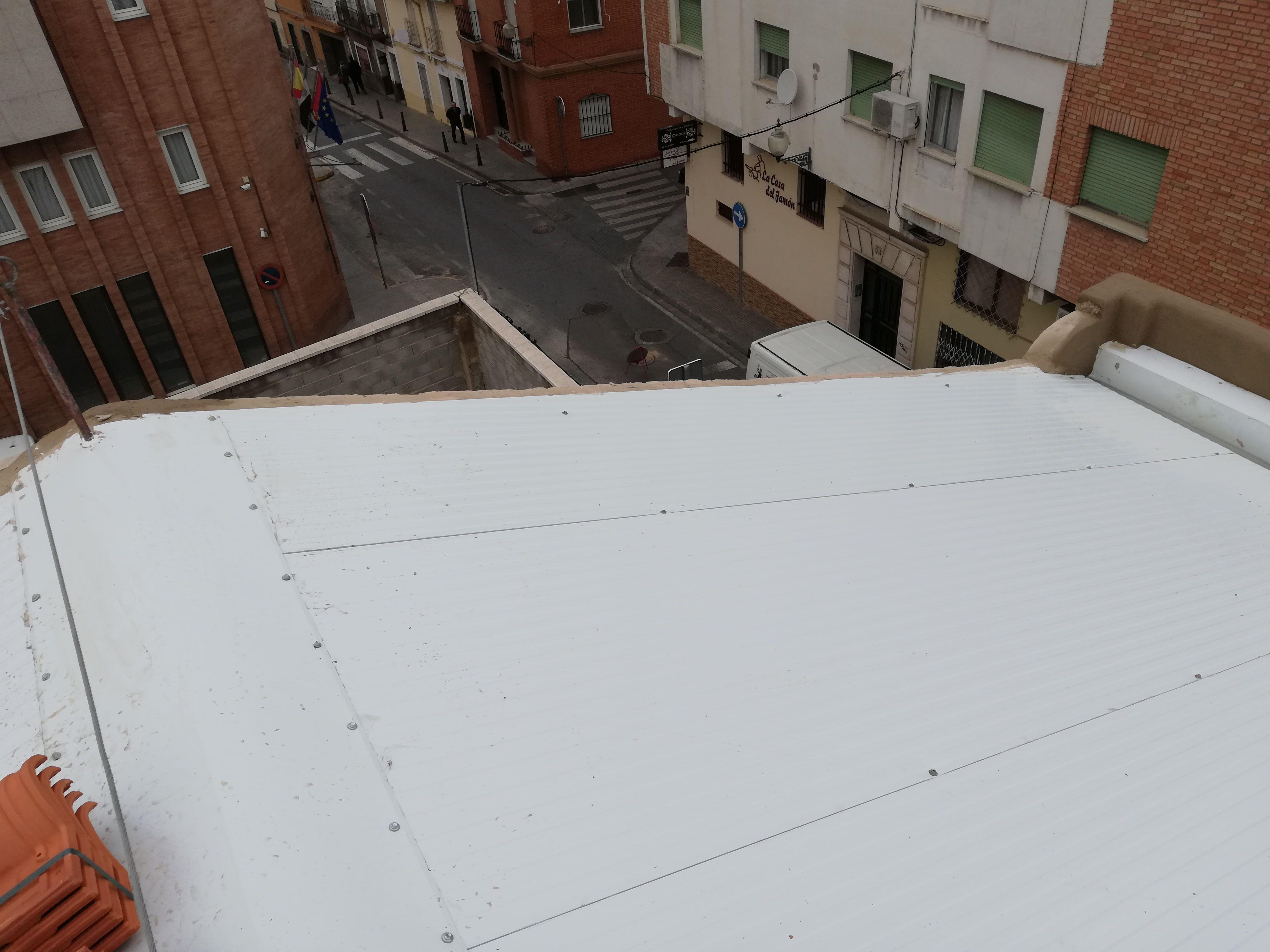 Sustitución de cubierta en Mérida