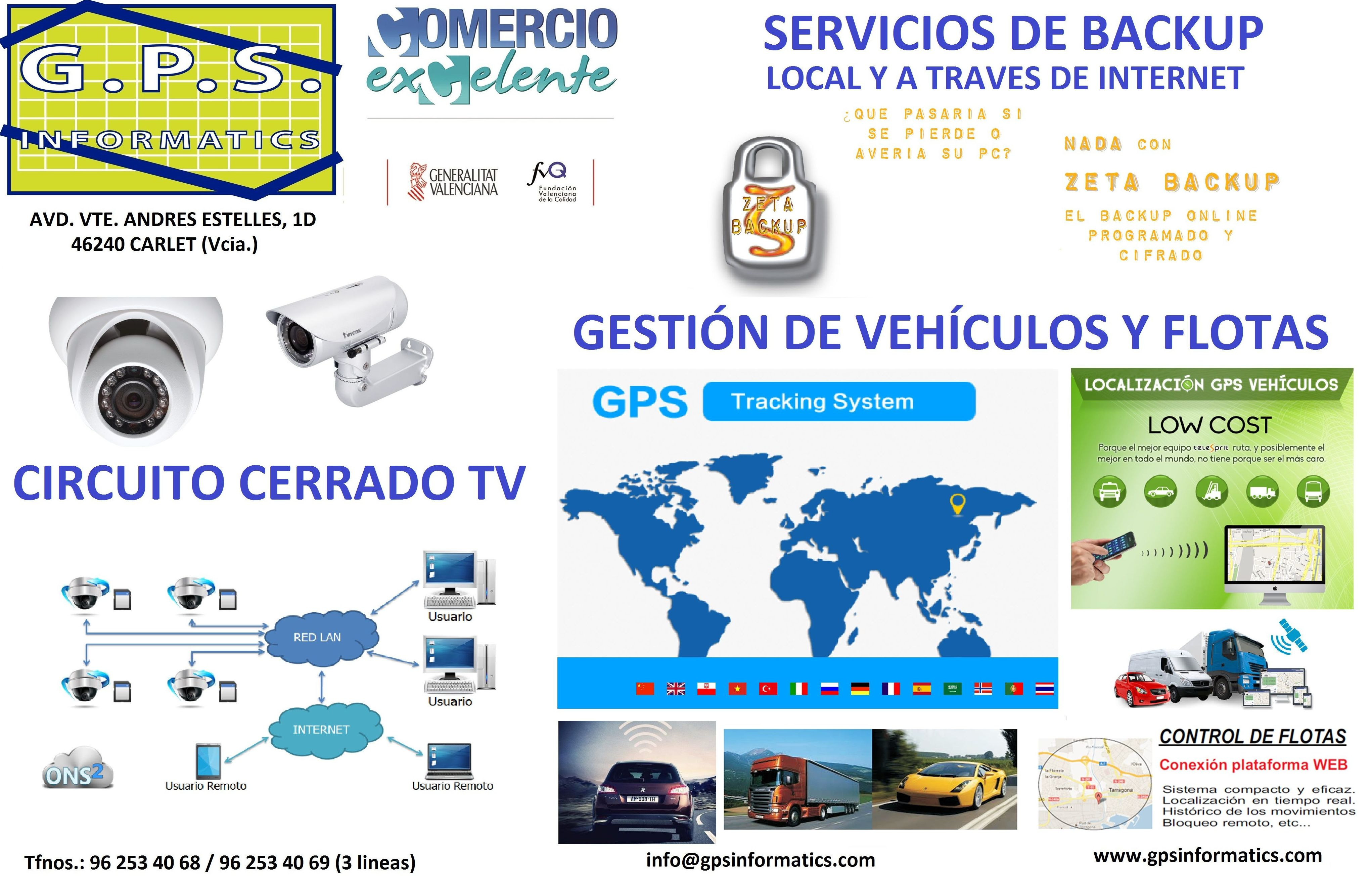 Foto 2 de Informática (hardware y software) en Carlet | G.P.S. Informàtics, S.L.